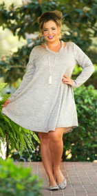 London Bridge Dress  -  Oatmeal