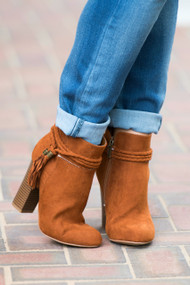 Saddle Bred Bootie  -  Chestnut