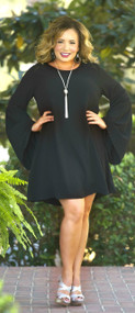 Lift Your Glass Dress - Black***FINAL SALE***