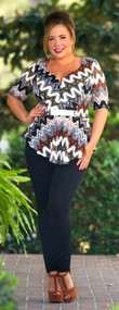 Shake Your Tail Feather Top***FINALE SALE***
