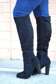 Love Is In The Details Boot  -  Black***FINAL SALE***