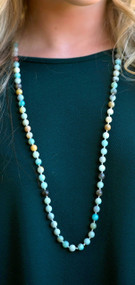 Ornamental Glow Bead Necklace***FINAL SALE***