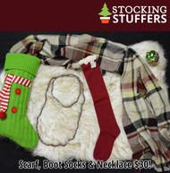 Christmas Cheer Stocking Stuffer  -  Red