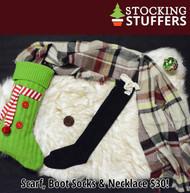 Christmas Cheer Stocking Stuffer  -  Black