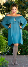 Southern Sweetness Dress - Antique Blue***FINAL SALE***