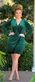 Under The Mistletoe Dress  -  Hunter Green