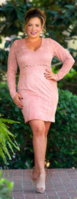 Kiss Me Goodnight Dress  -  Light Mauve***FINAL SALE***