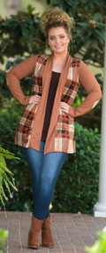 Warm My Soul Cardigan  - Camel***FINAL SALE***