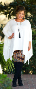 A Perfect Day Top  -  Ivory