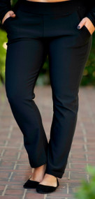 Pull On Perfect Pant  -   Black