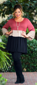 Red My Fortune Cookie Tunic ***FINAL SALE***