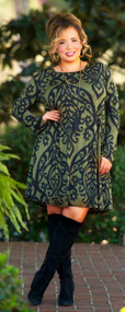 Green-which Village Dress / Tunic