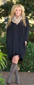 Tiramisu For Two Dress  -  Black