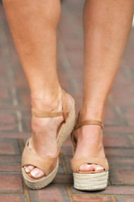 Suite Retreat Wedge - Beige***FINAL SALE***