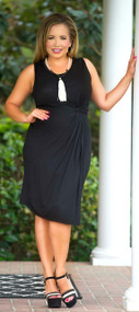 Damsel In A Dress - Black***FINAL SALE***