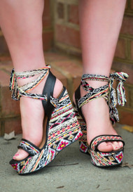 Strut Your Stuff Wedge***FINAL SALE***