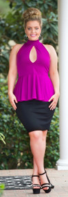 For The Thrill Of It Top - Magenta***FINAL SALE***