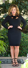 Catching Feelings Dress - Black***FINAL SALE***