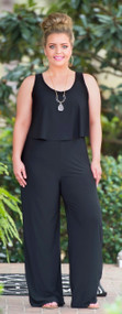 Top That Romper - Black***FINAL SALE***