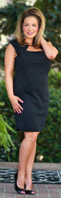 The Time Is Right Dress - Black ***FINAL SALE***