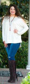 Easy Like Saturday Morning Top - Taupe***FINAL SALE***