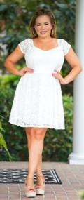 Coney Island Cutie Dress - Ivory***FINAL SALE***