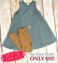Shop The Look Box - Teal All Your Friends