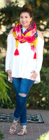 Rock The Boat Top - Ivory***FINAL SALE***