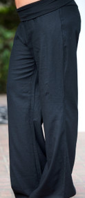 Look And Sea Linen Pant - Black