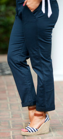 Ankles Away Pant - Navy