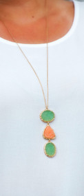 Three Peas In A Pod Necklace***FINAL SALE***