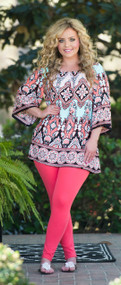 Cocktails And Coconuts Tunic