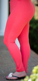 Meet Me At Sunset Ankle Pant  -  Coral