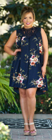 Shop Till You Drop Dress - Navy