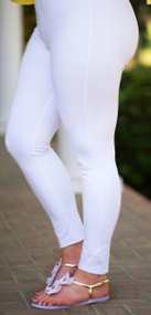 Meet Me At Sunset Ankle Pant - White***FINAL SALE***