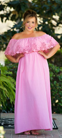 Whisper In The Wind Maxi  -  Dusty Pink***FINAL SALE***