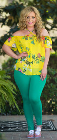 Sweet Summertime Top  -  Yellow***FINAL SALE***