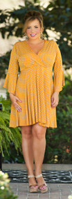 Spice Of Life Dress - Pumpkin***FINAL SALE***