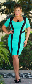 A Winning Case Dress - Mint***FINAL SALE***