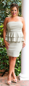 Leading Lady Dress - Sage