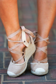 Beach Dreams Wedge  -  Natural***FINAL SALE***
