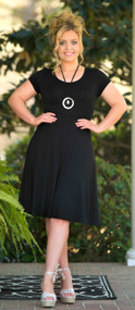 On Thin Ice Dress - Black