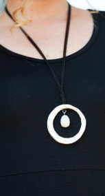 Going In Circles Necklace***FINAL SALE***