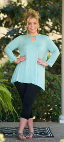 Hide And Seek Tunic  - Light Mint