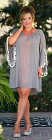 Secrets For The Sahara Dress - Taupe