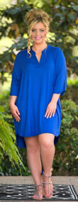 Saturday Soiree Dress - Royal Blue***FINAL SALE***