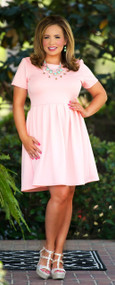 Happily Ever Easter Dress  -  Blush