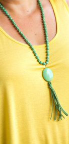 Ivy Dreams Necklace - Green
