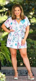 Isla Kate Romper  -  Pink***FINAL SALE***