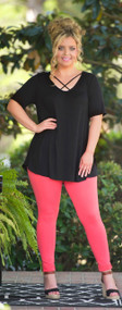 Pinky Promise Top  -  Black